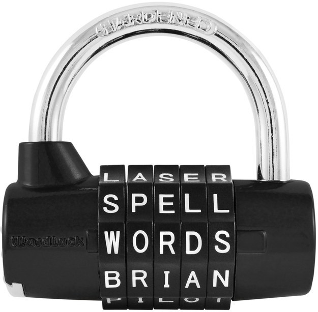 Lock That Uses Words Instead of Numbers