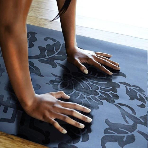 Sweat-Repelling Yoga Mat