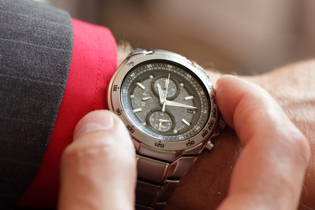 Adjust your watch as soon as you get on the plane.