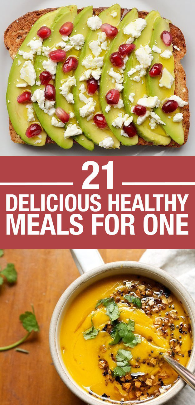 21 easy and healthy meals for one pharmacypedia easy and healthy meals for one living healthy family health forumfinder Choice Image