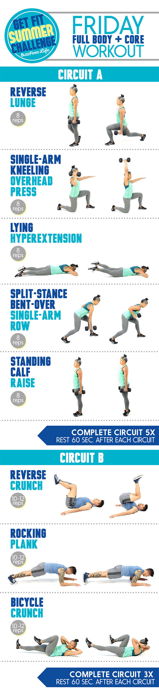 Here s The Friday Workout For The Get Fit Summer Challenge. Here s The Friday Workout For The Get Fit Summer Challenge