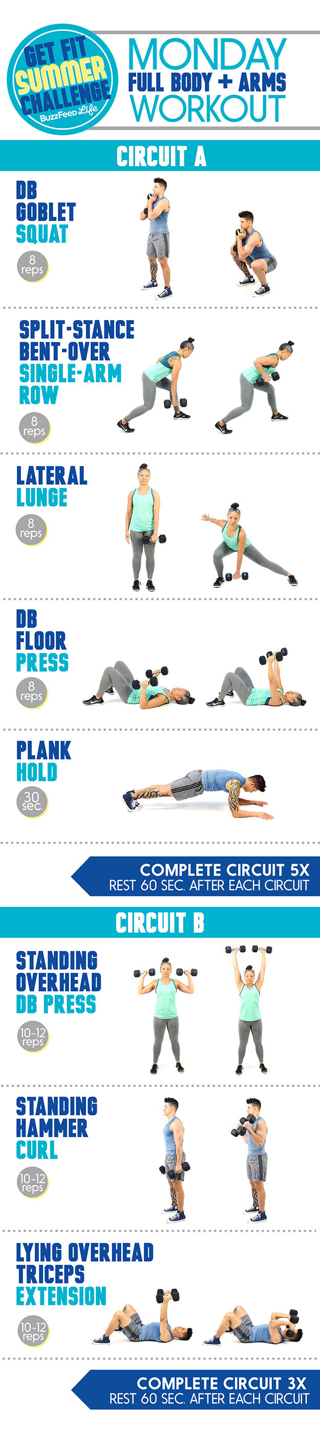 Here s The Monday Workout For The Get Fit Summer Challenge. Here s The Monday Workout For The Get Fit Summer Challenge