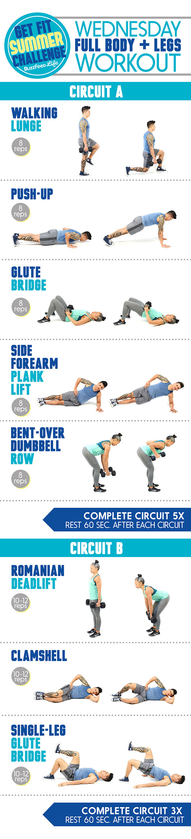 Here s The Wednesday Workout For The Get Fit Summer Challenge. Here s The Wednesday Workout For The Get Fit Summer Challenge